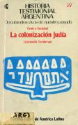 La colonización judía. Gente y Sociedad