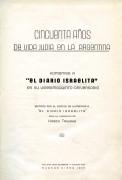 Ioivl buj, sajaklen fun 50 ior idish lebn in Aerguentine: Lijvod Di Idishe Tzaitung – Cincuenta años de vida judía en la Argentina: Homenaje a El diario Israelita en su vigésimo quinto aniversario