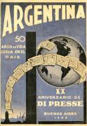 Arguentine: fuftzik ior idisher ishev. Tzvantzik ior Di Presse – Argentina: 50 años de vida judía en el país. XX aniversario de Di Presse
